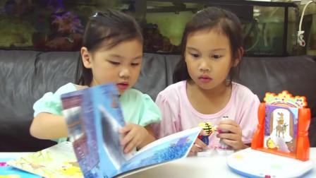 欢乐成长图书影音剧场组 巧虎快乐学园 字卡学习玩具分享 巧连智