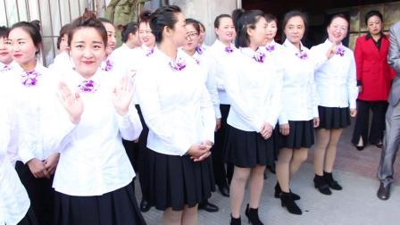 """""""七台河市庆祝中华人民共和国成立70周年大合唱比赛""""七台河新玛特团队"""