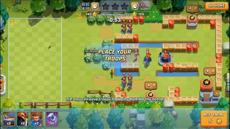 【Rush Wars】对战系统详解!横版部落战!