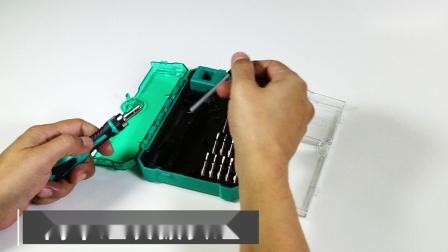 Prokits宝工 SD-9827M_多功能精密维修起子组