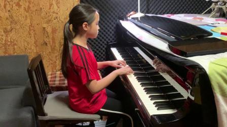帕尔兹哈拉泽 练习曲  美美演奏