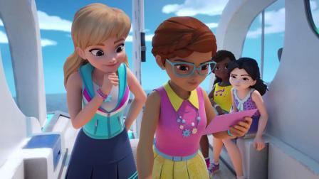 海底的资源被坏人盯上了,女孩们急忙去阻止