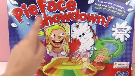 美国 砸派 游戏机 SHOWDOWN Pie Face 奶油 打脸 砸派 机 火箭 发射机 亲子