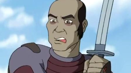 围棋少年:江流儿太顽劣,偷偷摸摸耍大刀,差点沦为刀下亡魂