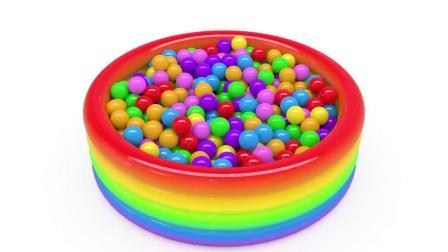 巧克力豆里藏着饼干人 学习认识颜色和形状 幼儿英语早教启蒙动画