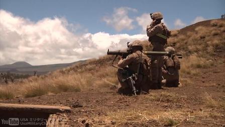 USAMC 环太平洋联合军演(RIMPAC 2014)美国海军陆战队射击演习