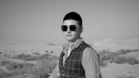 《踏过沙漠,嫁给爱情.》包古图沙漠旅拍 泰默菲尔出品.