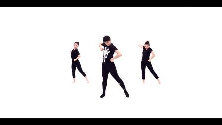 青年舞蹈家邓斌原创作品《我的祖国》正面演示