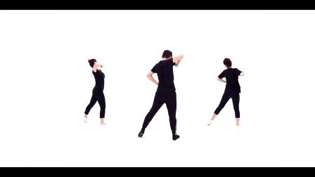青年舞蹈家邓斌原创作品《我的祖国》背面演示
