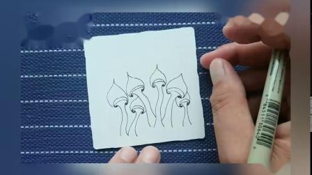 21-2图样:蓝瘦香菇