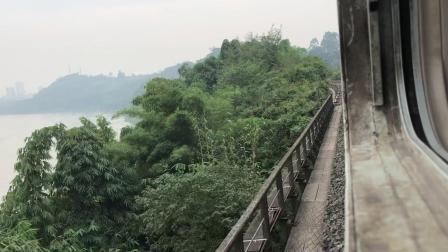 成渝铁路5612次重庆到江津外景录制
