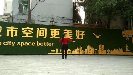 孝感晨练广场舞(两种跳法)《酒醉的蝴蝶》