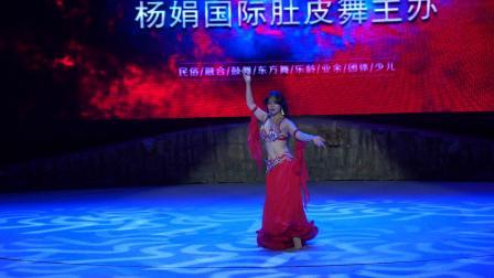 成都杨娟国际肚皮舞主办西南肚皮舞大赛雪儿老师精彩表演