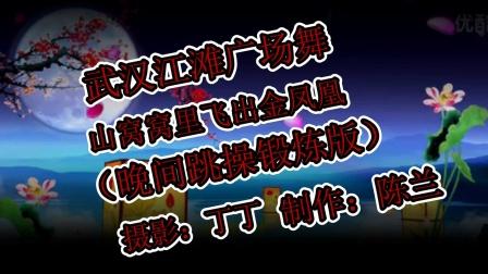 武汉江滩晚上做操视频