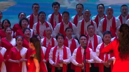 """""""不忘初心 牢记使命""""宜黄县庆祝中华人民共和国成立七十周年群众歌咏比赛财政代表队《今天是你的生日我的祖国》——建成影视"""