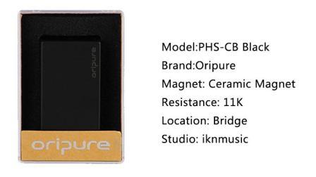 Oripure-PHS-CB Black-封闭11K-M00247
