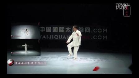 赵幼斌大师杨氏太极拳85式教学74式 进步指档锤
