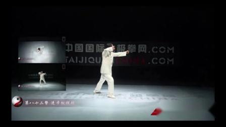 赵幼斌大师杨氏太极拳85式教学82式 进步搬拦锤
