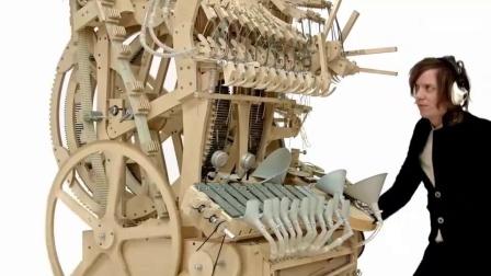 难得一见的惊人创意这是我见过最复杂的机械, 结构让我足足看了三遍