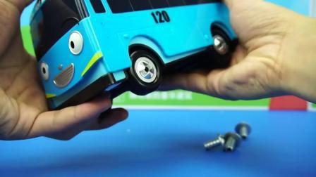 TAYO小巴士 儿童汽车玩具 泰路小巴士 韩国动画