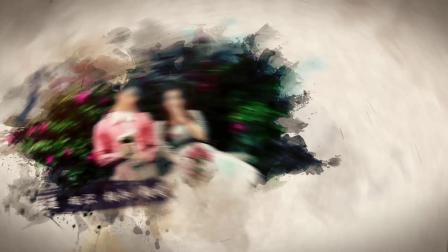 AE模板 pr模板 1090婚庆婚礼片头水墨中国风ae模板电子相册视频ae模板 年会视频 企业视频