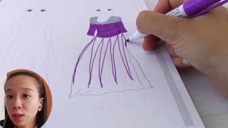 超级 炫酷 DIY 手工 制作 Topmodel  芭比 娃娃 水晶 水钻 废物 利用 旧物改造 绘画