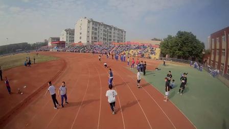 淄川中学2019运动会穿越机航拍
