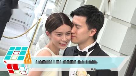 文咏珊米兰古堡办唯美婚礼 和老公宣读誓词感动落泪