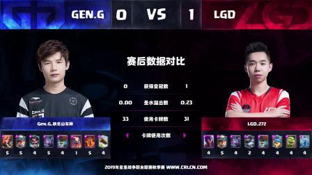 CRL2019秋 W9D3 Gen.G_秋名山车神 VS LGD_272