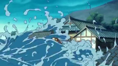 哪吒传奇:龙王让李靖交出哪吒,但不知儿子在哪,他立马破坏