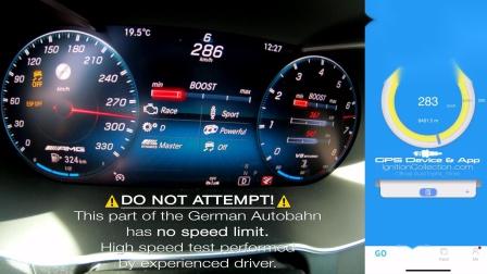 2020 Mercedes C63 S AMG 0-287km-h