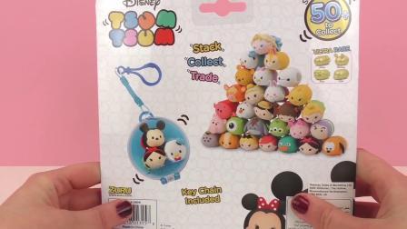 迪士尼 Tsum Tsum 叠叠乐 维尼 公主 迷你 玩偶 公仔 套装 玩具组 开箱 展示