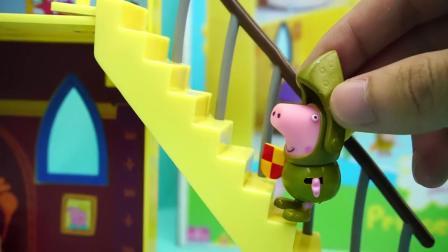小猪佩奇 雪地城堡 迪士尼 玩具 粉红猪小妹