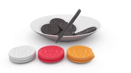 制作一盘巧克力夹心饼干认识颜色 幼儿英语早教启蒙