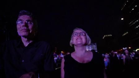 泰达艺术季无人机表演