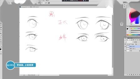 绘画教程:如何画出让人心动的动漫人物眼睛?