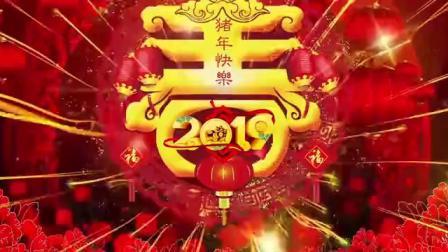 2019新年快乐,猪年吉祥,万事如意
