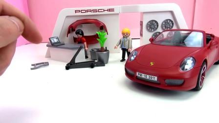 摩比游戏  汽车模型  组装 保时捷PORSCHE  CARERRA S