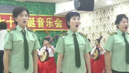 丰林县老年大学庆祖国70华诞演出00059