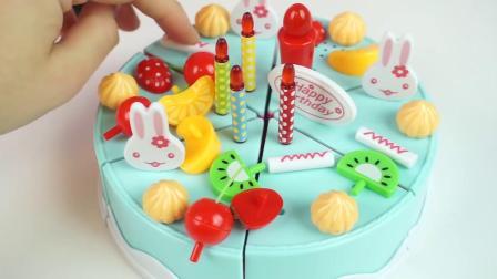 生日蛋糕切音乐玩具蛋糕切婴儿玩具