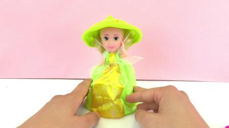 迪士尼 公主 系列 超级 可爱 袖珍 mini 纸杯 蛋糕 公主 Princess Cupcake  多功能 i(1)