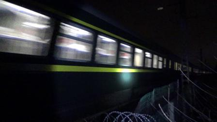 K351次 HXD1D0666 通过沪昆线K234KM大园里特大桥