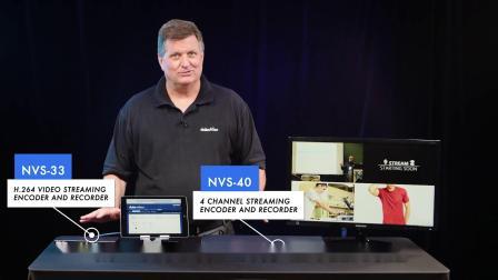 2019年全新网络直播编码器-Datavideo洋铭NV-33和NV-40