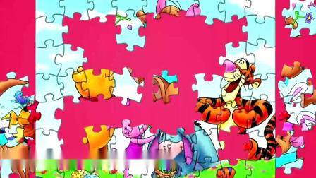 WINNIE THE POOH! Let's Play! Disney Puzzle Games for Kids _ Toys Trek_2019918