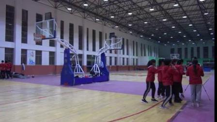篮球双手胸前传接球(一等奖)-高中体育优质课(2019)