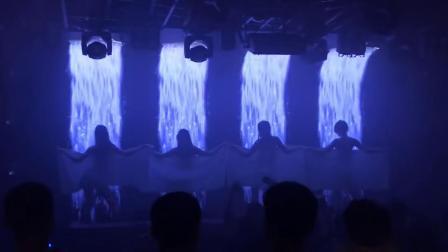 大屏幕舞蹈配合