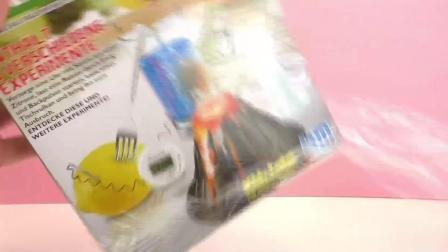 儿童 创意DIY 百科 厨房生活 科学小实验 套装 玩具组 开箱 展示