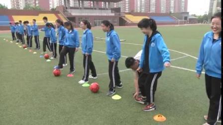 足球脚内侧传接球(一等奖)-高中体育优质课(2019)
