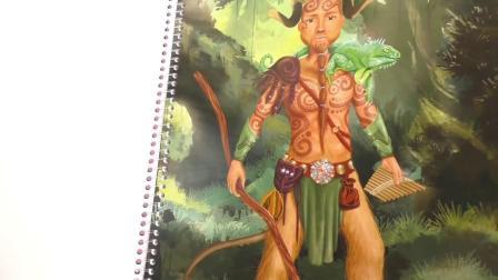 儿童 超级模特Topmodels 幻想超模Fantasy Model 美少女 填色书 画册 展示