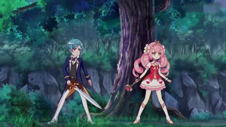 小花仙:埃里克拿到了宝剑,他用宝剑砍断了捆他们的绳子!小爱使出圣洁花仙之翼,不料菲尔的魔法吞噬了她的攻击!